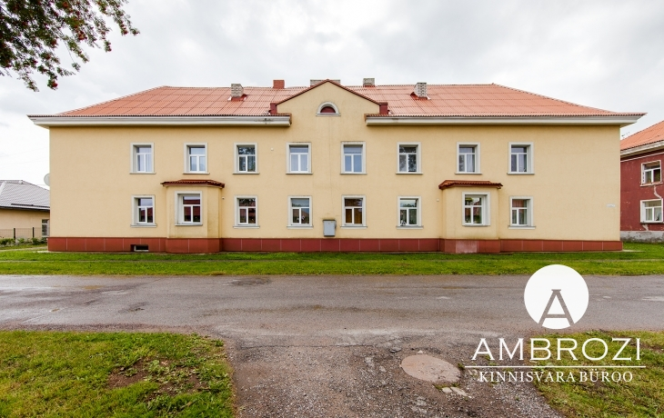 In one of the best houses in Johvi town, 2 bedroom apartment, Kutse 7