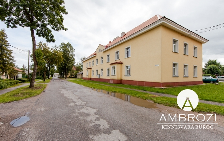 For rent in one of the best houses in Johvi, 2 bedroom apartment with fireplace, Kutse 7