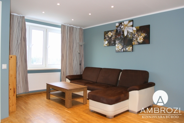 In the fairytale district of Tallinn, a cozy 1-bedroom apartment, Mahla 78