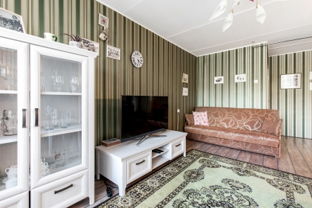 Spacious and comfortable. Light-filled, comfortable 3-room apartment in Narva, Tallinna mnt. 56