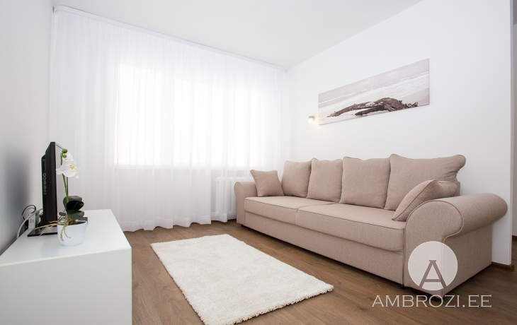 BEST! MODERN, COMFORTABLE 1-ROOM APARTMENT WITH REPAIR IN SILLAMÄE, GAGARINI 3